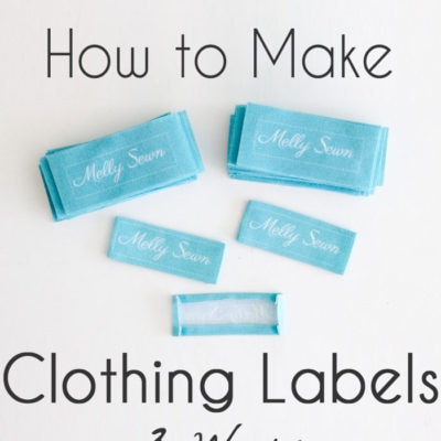 How to Make Clothing Tags – 3 Options