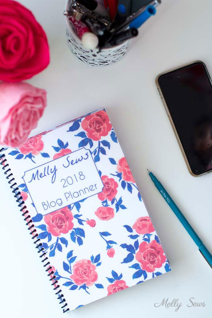 Genius - you can custom bind your own planner! - Printable blog planner - make your own DIY 2018 planner - Melly Sews