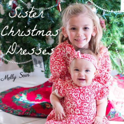 Fiesta Frock – Matching Christmas Dresses for Sisters