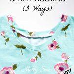 Top Tutorials 2017 – #3 Knit Necklines