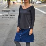 Tillery Skirt and Fairelith Top with Ma, me, mi, mo