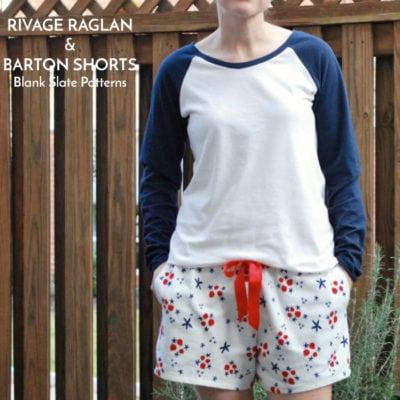 Rivage Raglan and Barton Shorts with JessamyB