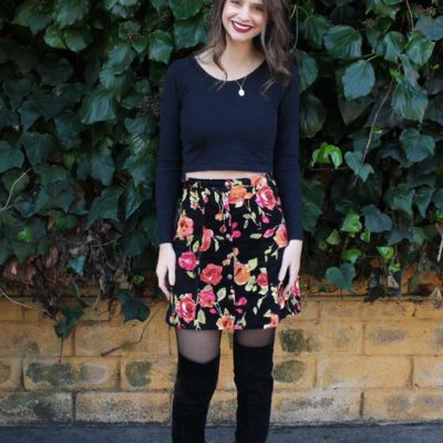 Tillery Skirt with Handmade by Lizzy