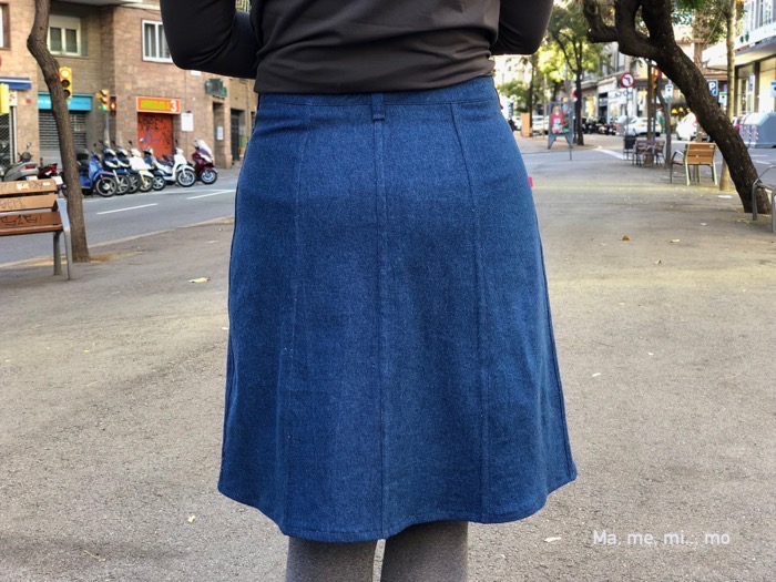 Tillery Skirt & Fairelith Top sewing patterns by Blank Slate Patterns sewn by Mamemimo