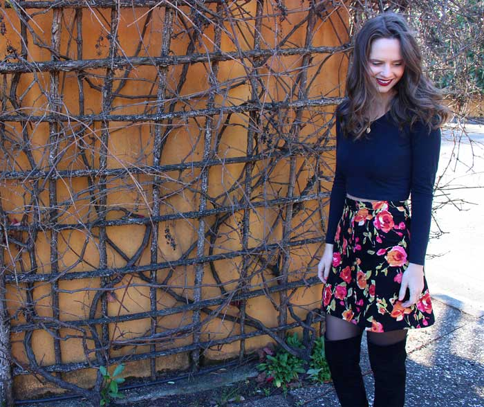 Tillery Skirt sewing pattern by Blank Slate Patterns sewn by Handmade by Lizzy