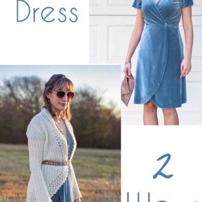 Handmade Velvet Dress – How to Style a Velvet Dress