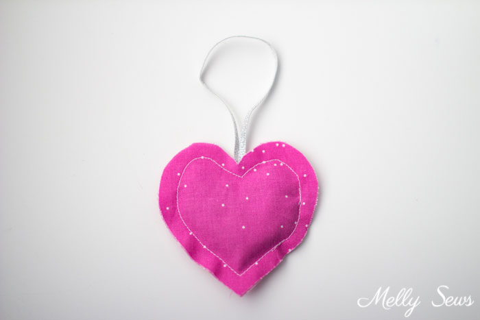 Heart - DIY Natural Air Fresheners - Make these Car Air Fresheners using natural ingredients - tutorial by Melly Sews