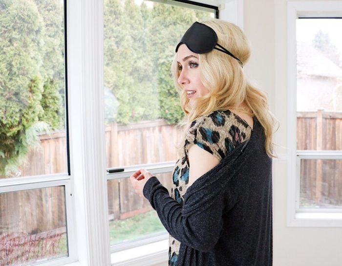 Blanc T-Shirt sewing pattern from Blank Slate Patterns - Pajama Dress hack - sewn by Riva La Diva