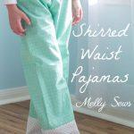 Shirred Waist Pajamas – Mommy And Me PJs