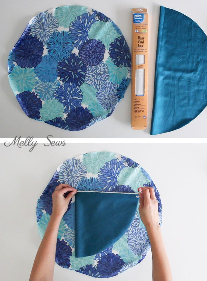 Step 1 - How to Sew a Shower Cap - DIY Shower Cap with Video & Tutorial by Melly Sews