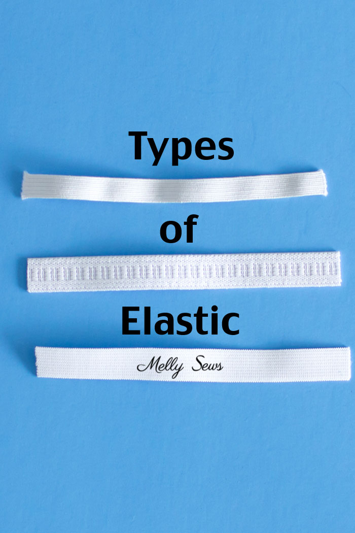 "1//4/"" Elastic: White Elastic Corded Flat Elastic 6mm wide Various Lengths"