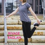 Rivage Raglan with Sweeter Than Cupcakes