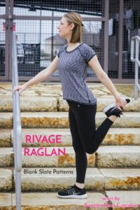 Rivage Raglan sewing pattern by Blank Slate Patterns sewn by Sweeter Than Cupcakes
