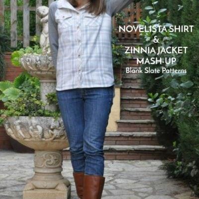 Zinnia and Novelista Mash-up with Doctora Botones