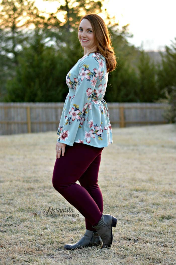 Auberley Tunic by Blank Slate Patterns sewn by Stacey from Margarita on the Ross