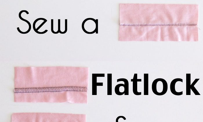 How to Flatlock on Your Serger or Overlocker – Sew a Flatlock Seam