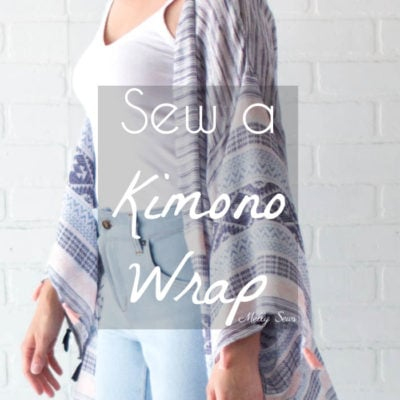 DIY Kimono Wrap – Sew a Swim Cover From Scarves