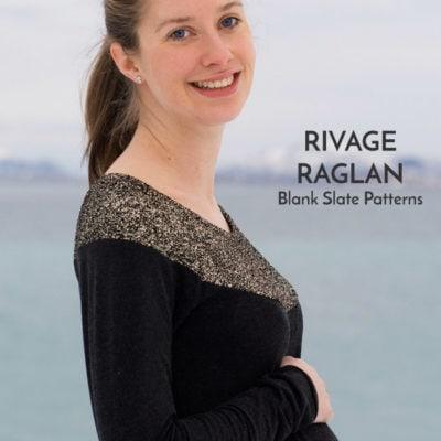 Rivage Raglan with Sew Mariefleur
