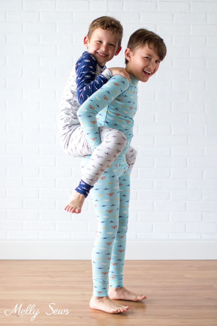 Brothers - Airplane Knits by Melissa Mora for Riley Blake Designs