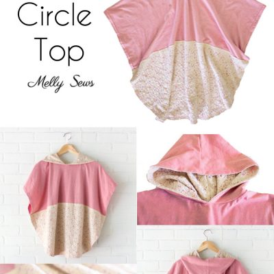 Hooded Circle Top