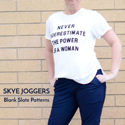 Skye Joggers with Be So Crafty