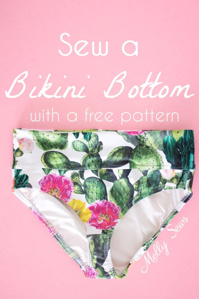 Sew A Bikini Bottom Melly Sews