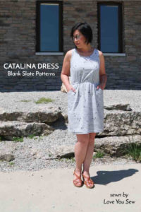 Catalina Dress with Love You Sew