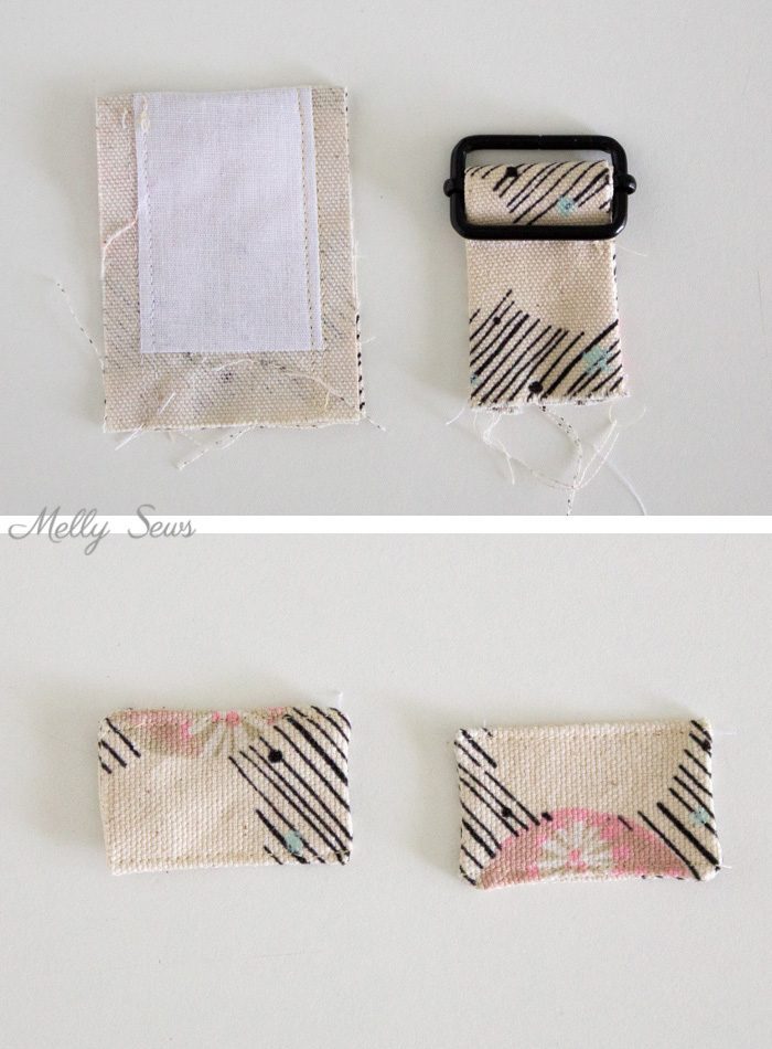Strap changes - Sew the perfect travel bag - converts from a messenger bag to a backpack - Melly Sews