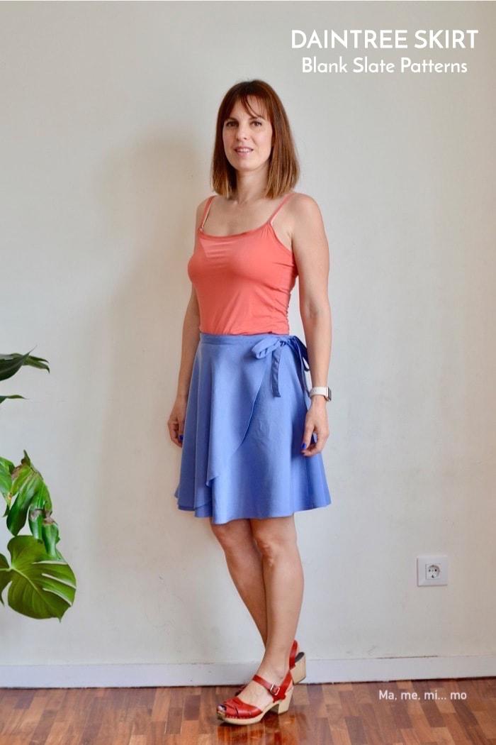 Daintree Skirt sewing pattern by Blank Slate Patterns sewn by Ma, me, mi...mo