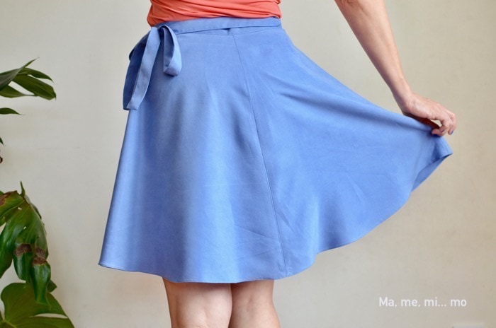Daintree Skirt sewing pattern from Blank Slate Patterns sewn by Ma, me, mi... mo