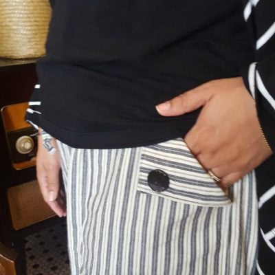 Oceanside Pants with Handmade by Helena