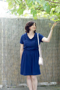 Auberley Dress sewing pattern by Blank Slate Patterns sewn by Frölein Tilia