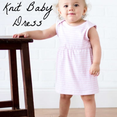 Sew a Knit Baby Dress