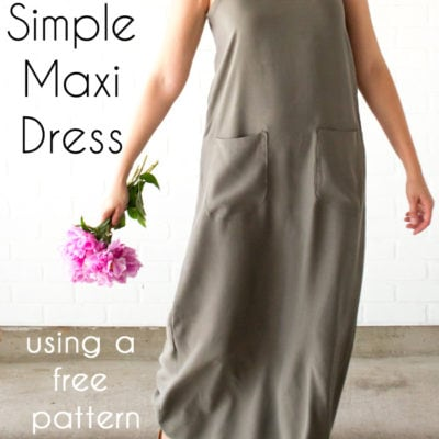 Simple Summer Maxi Dress