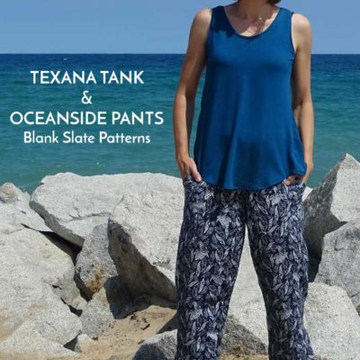 Texana Tank and Oceanside Pants with Doctora Botones