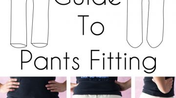 How to Fit Pants When Sewing – Pants Fitting Issues