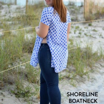 Shoreline Boatneck with Margarita on the Ross