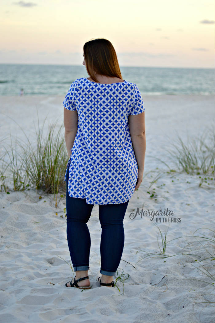 Shoreline Boatneck sewing pattern from Blank Slate Patterns sewn by Margarita on the Ross