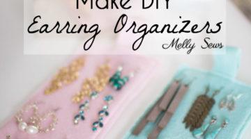 Earring Organizers – DIY Earring Holder