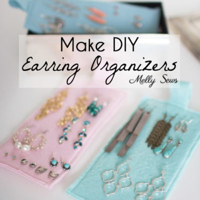 Earring Organizers – DIY Earring Holder
