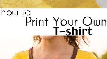 How to Make a Custom T-shirt – DIY Tutorial