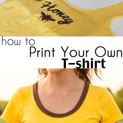 How to Make a Custom T-shirt – DIY Tutorial