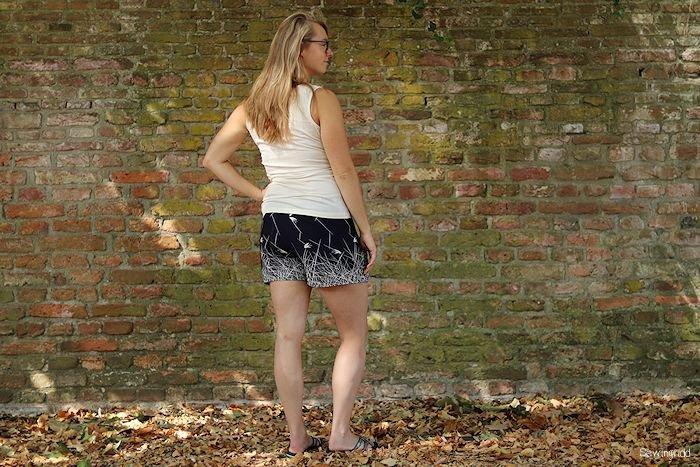 Barton Shorts pattern by Blank Slate Patterns, sewn by Sewingridd