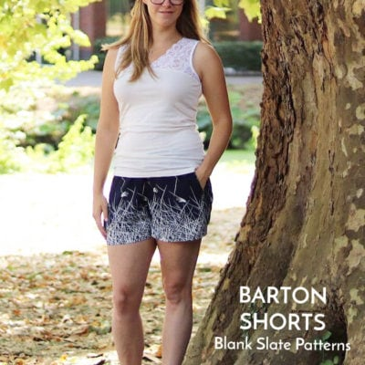 Barton Shorts with Sewingridd