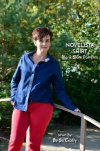 Novelista Shirt with Be So Crafty