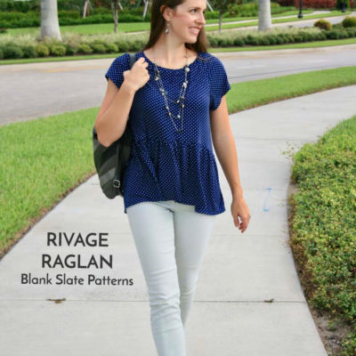 Rivage Raglan with Hazelnut Handmade