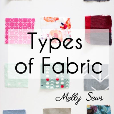 Fabric Types to Sew