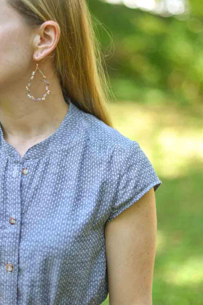 Marigold Dress by Blank Slate Patterns sewn by JessamyB