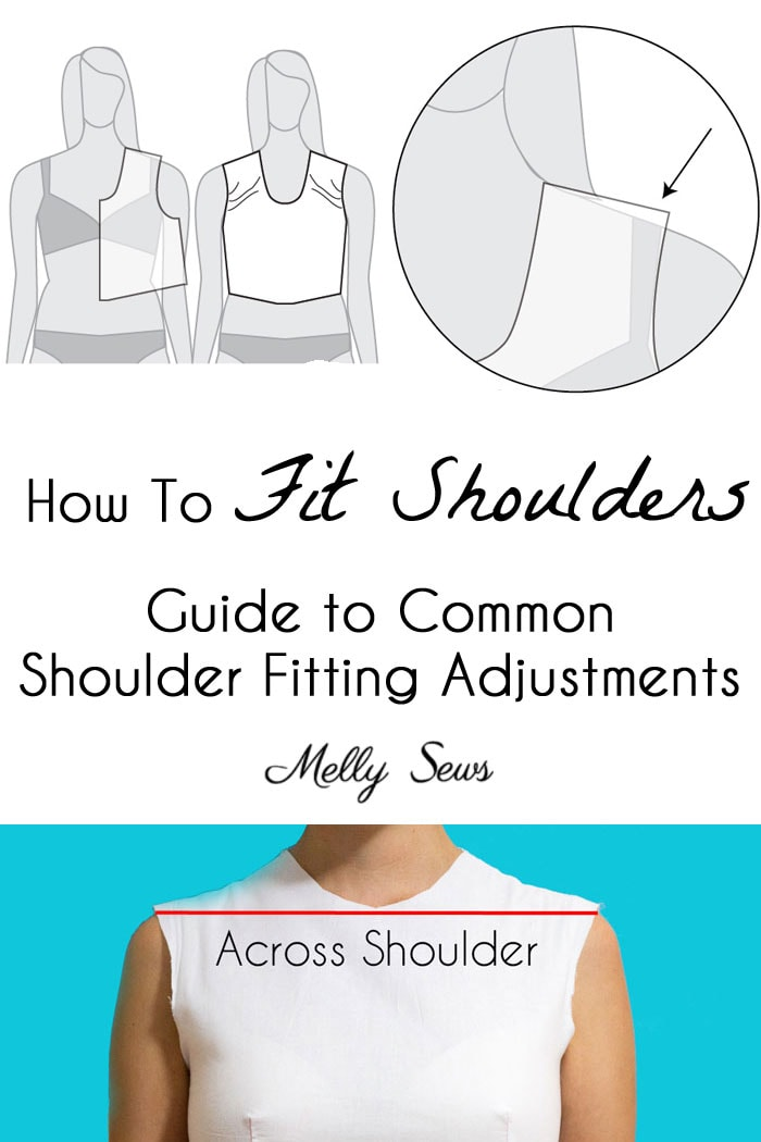 Shoulder Fitting Adjustments When Sewing Melly Sews