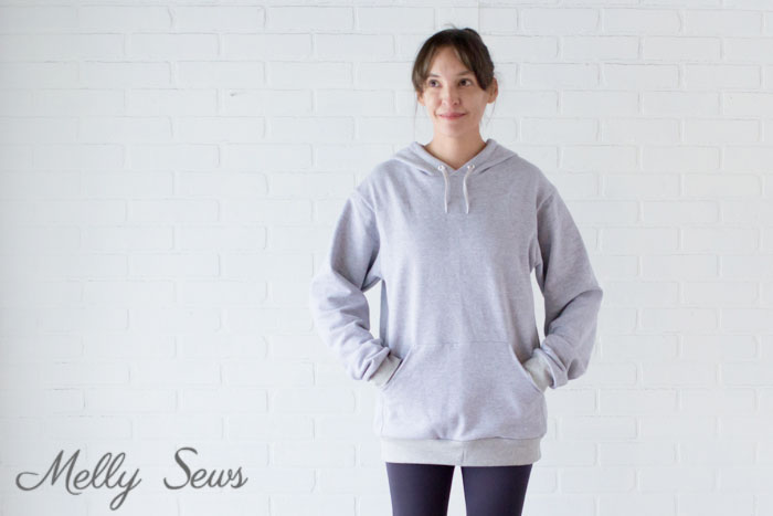 Perfect Cozy Hoody - Sew a Hoodie - Make a Hoodie for Men or Women - Unisex Hoody - Melly Sews